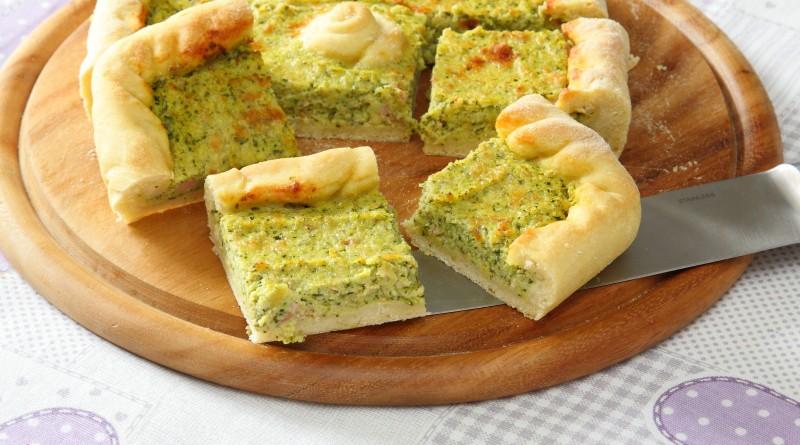 Torta Salata Zucchine e Mortadella