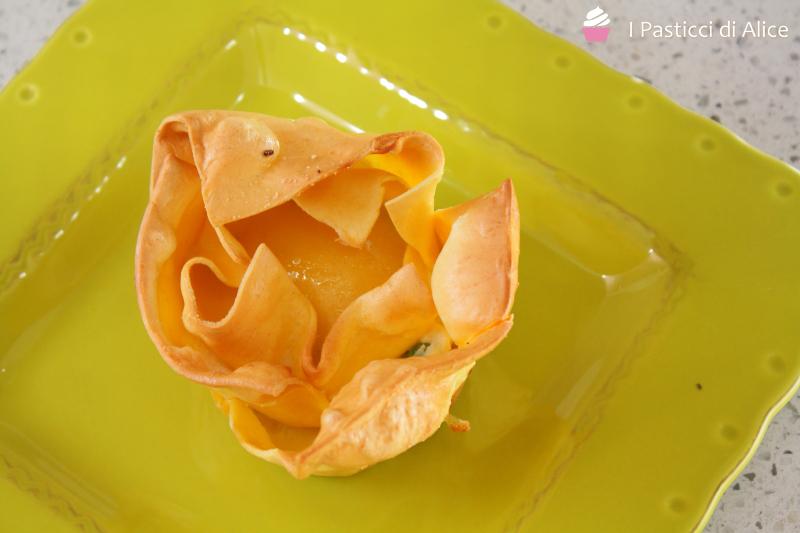Cestini di Lasagne Ripieno Cremoso