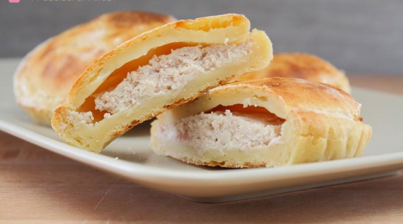 Mini Pie Patate Prosciutto e Ricotta
