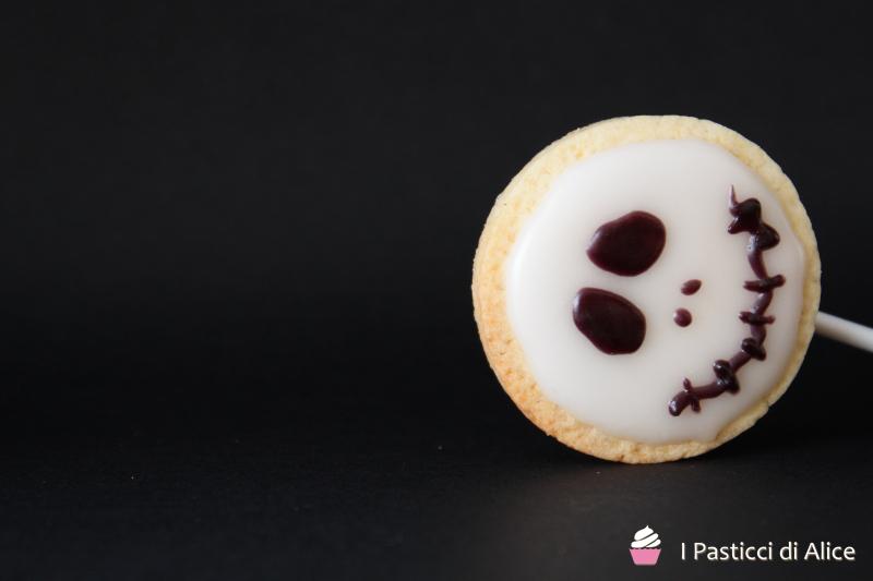 Halloween Glazed Biscuits