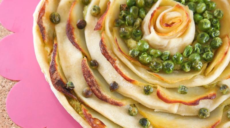 Torta Salata Piselli e Patate