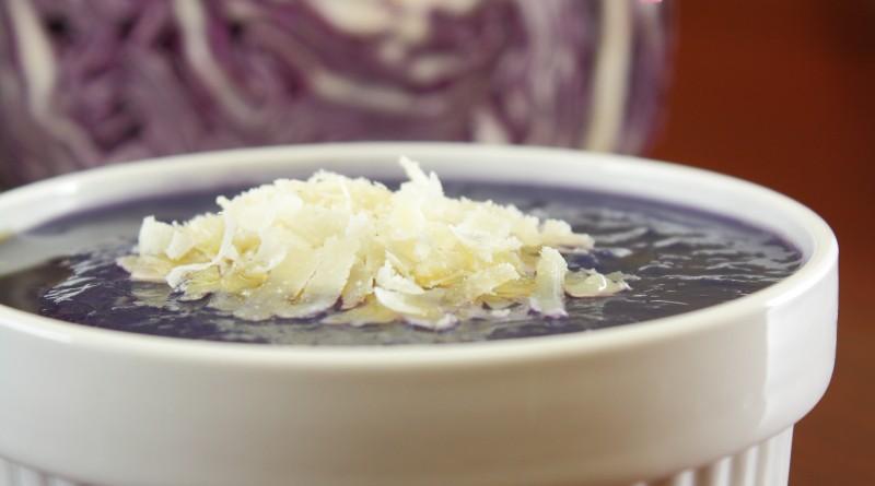 Crema di Cavolo Viola e Patate