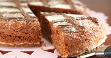 Torta Semplice al Cioccolato