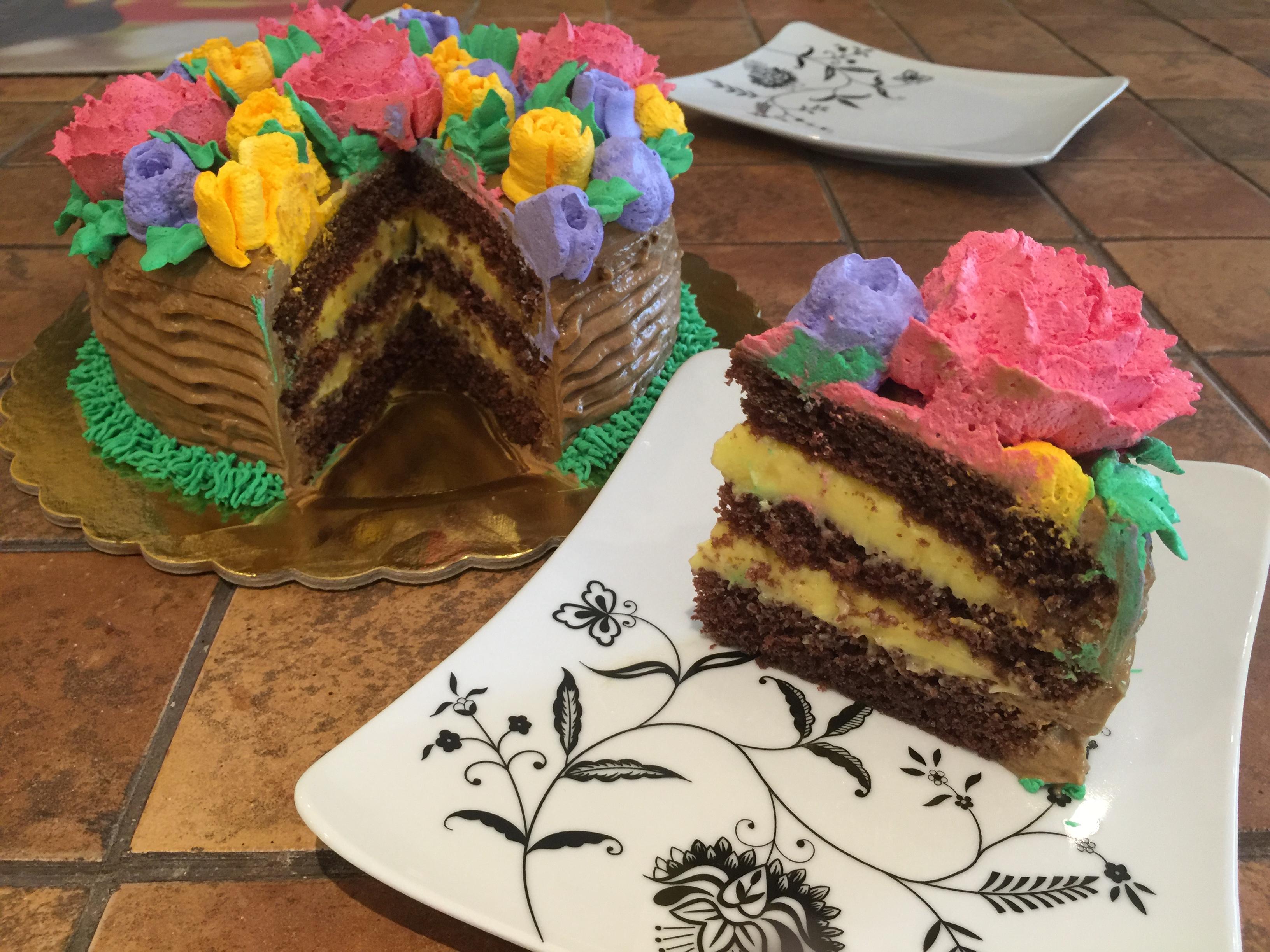 Torta bouquet
