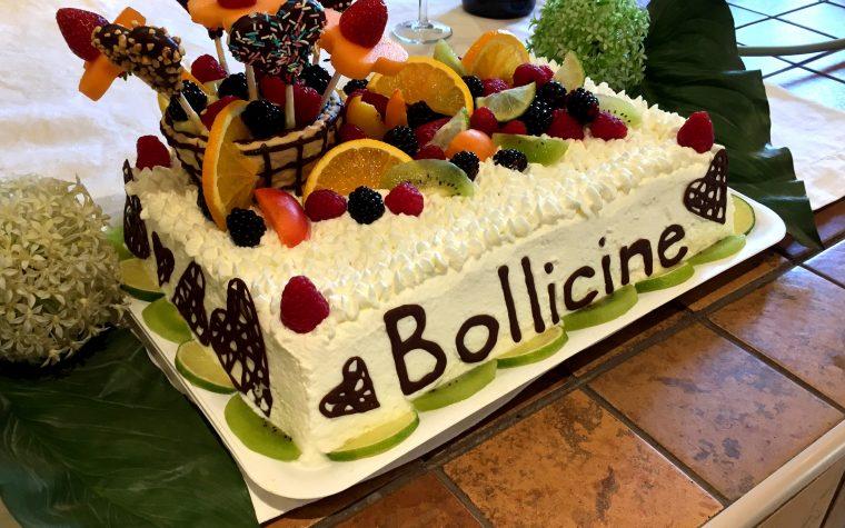 Torta Bollicine