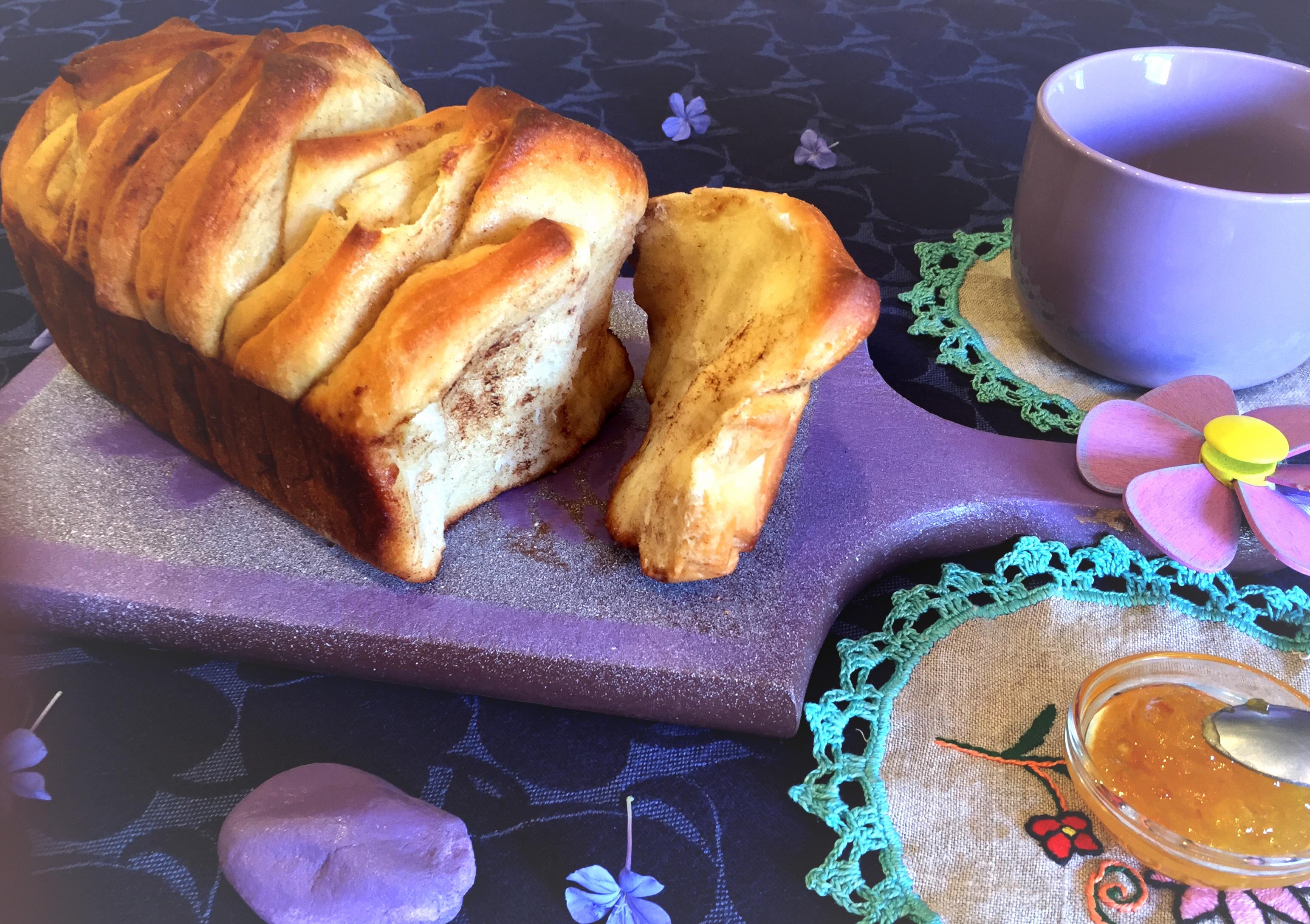Pane a fisarmonica dolce