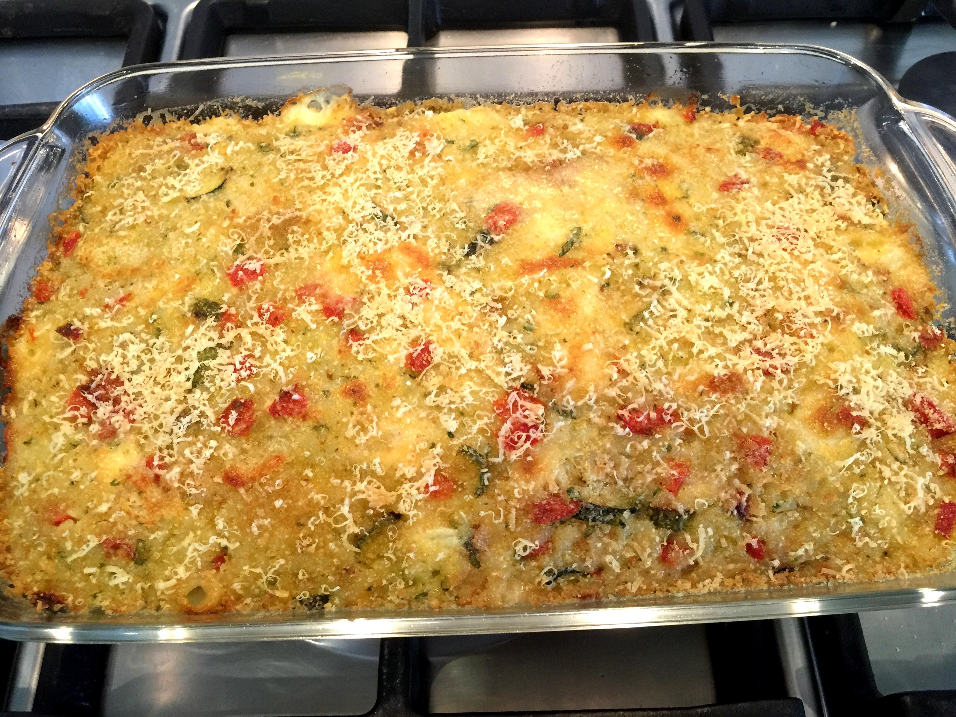 Sformato di riso con verdure