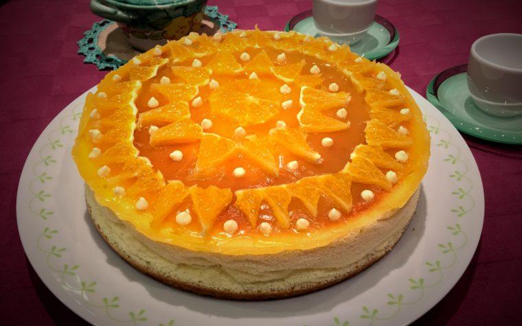 Cheesecake agli agrumi con cottura