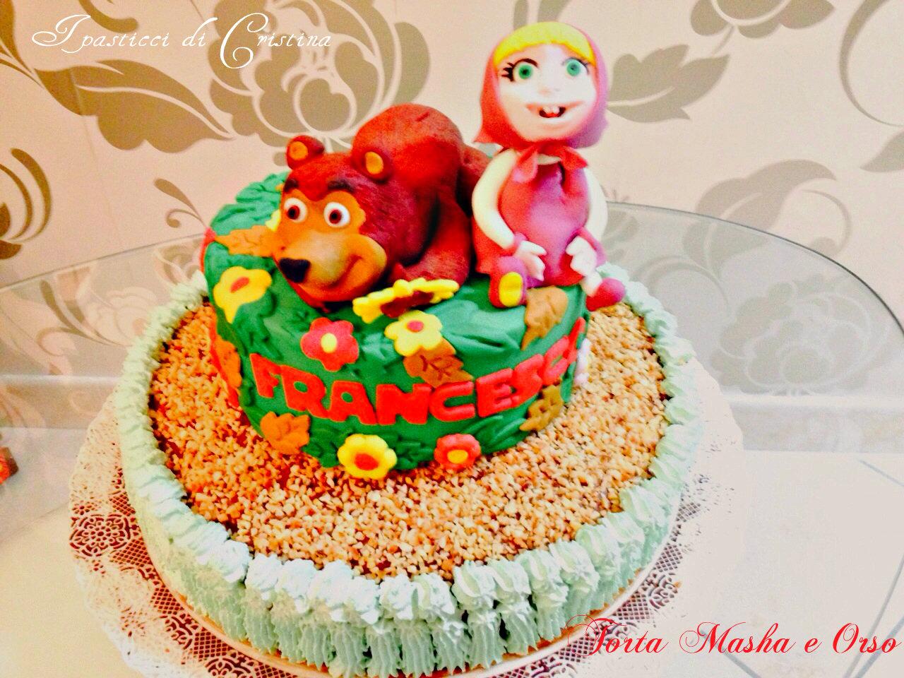 Torta Masha E Orso I Pasticci Di Cristina