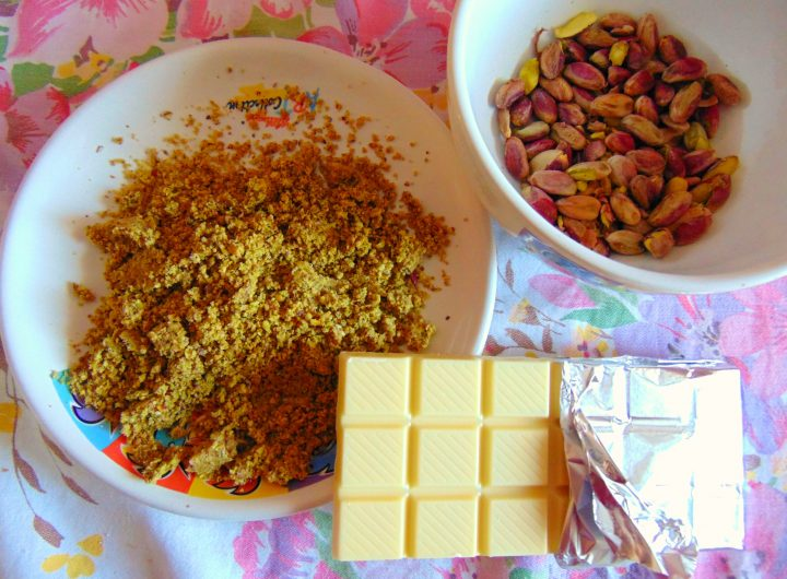 pistacchi e cioccolato bianco