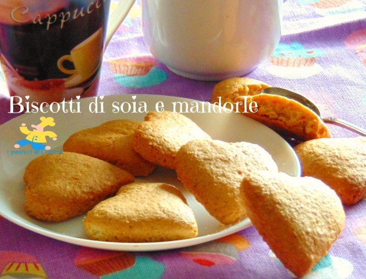 Biscotti di soia e mandorle