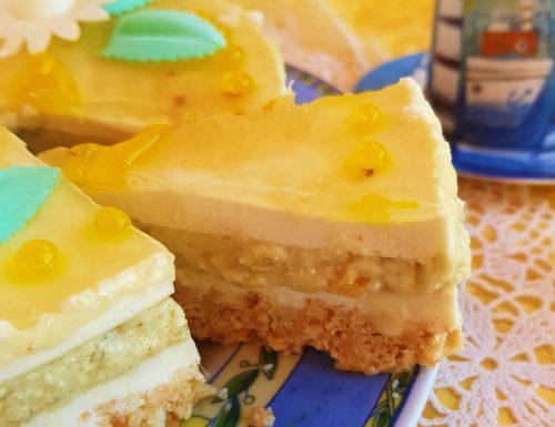 Torta fredda al bergamotto