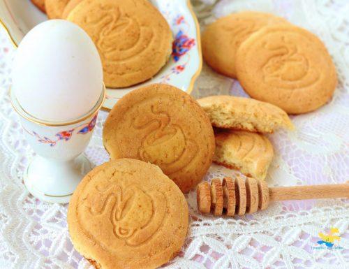 Biscotti di riso e miele