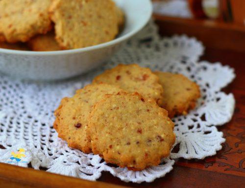 Biscotti mandorle e miglio soffiato