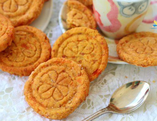 Biscotti mandorle e carote