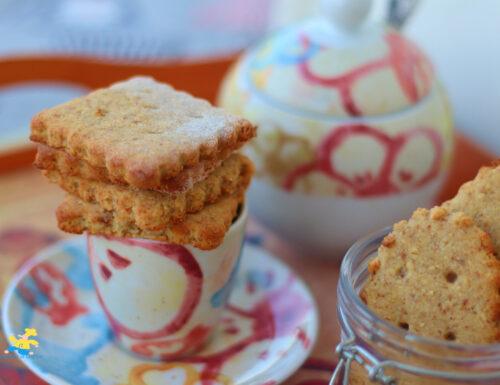 Biscotti mandorle e fiocchi di avena