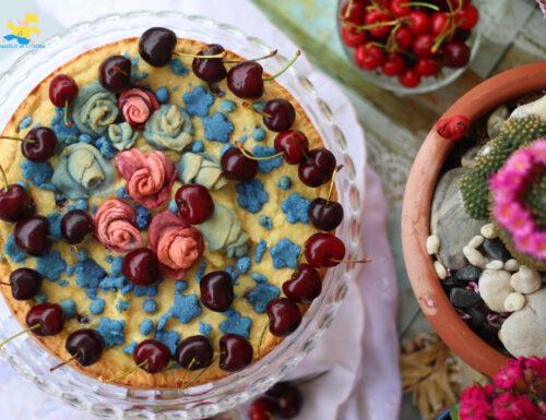 Crostata mandorle e ciliegie