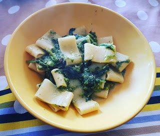 Calamarata con broccoli