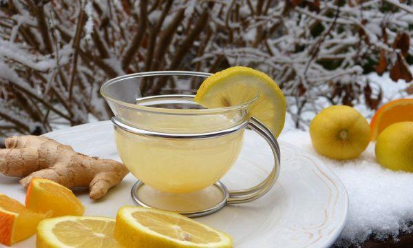 Tisana depurativa dimagrante allo  zenzero e limone