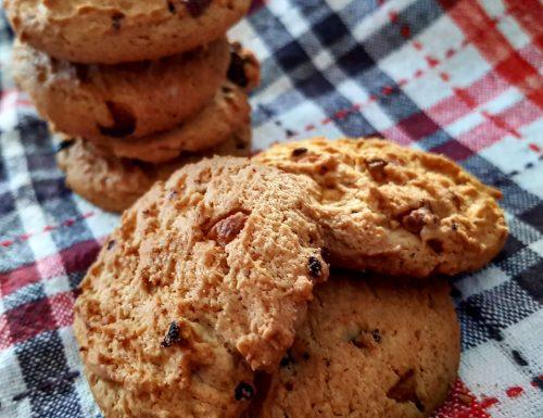Goccioli – Biscotti ai mirtilli rossi e gocce di cioccolato bianco
