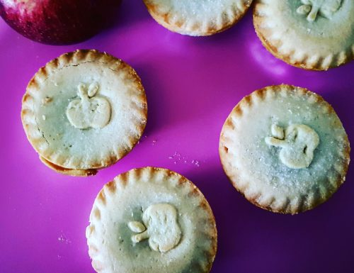 Mini Apple Pies – tortine di mele- ricetta americana