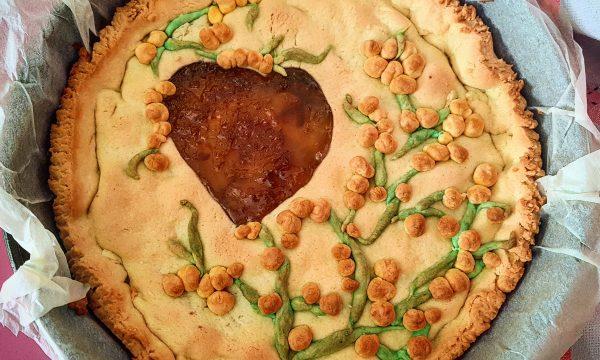 Crostata morbida all arancia e zenzero -edizione festa della donna