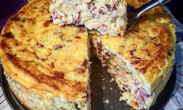 A pizza e Farenella (migliaccio salato)