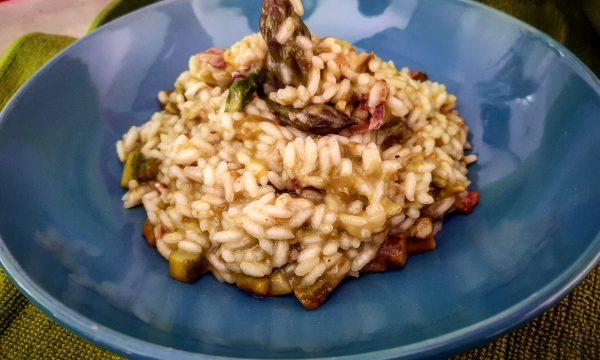 Risotto con asparagi e speck – ricetta