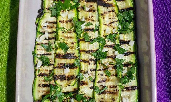 Zucchine grigliate – il contorno perfetto