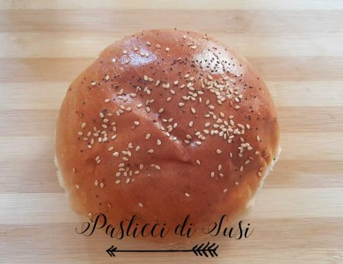 Homemade Hamburger buns – ricetta
