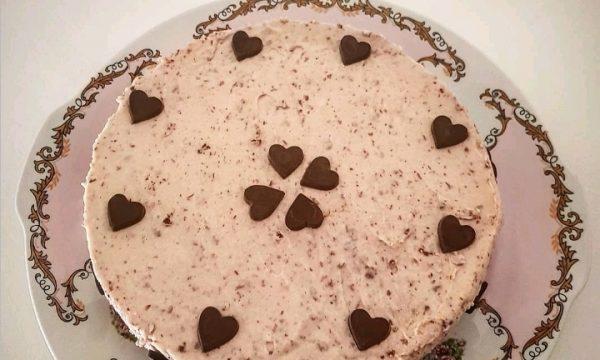 Cheesecake alla stracciatella – ricetta