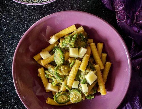 Cannerozzetti con zucchine e provola dolce