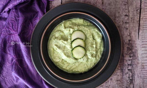 Pesto di zucchine e feta greca