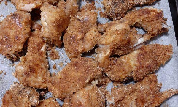 Coniglio panato senza glutine