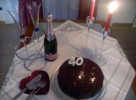 La torta sette veli al cioccolato