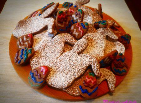 Biscotti al cacao con farina di riso