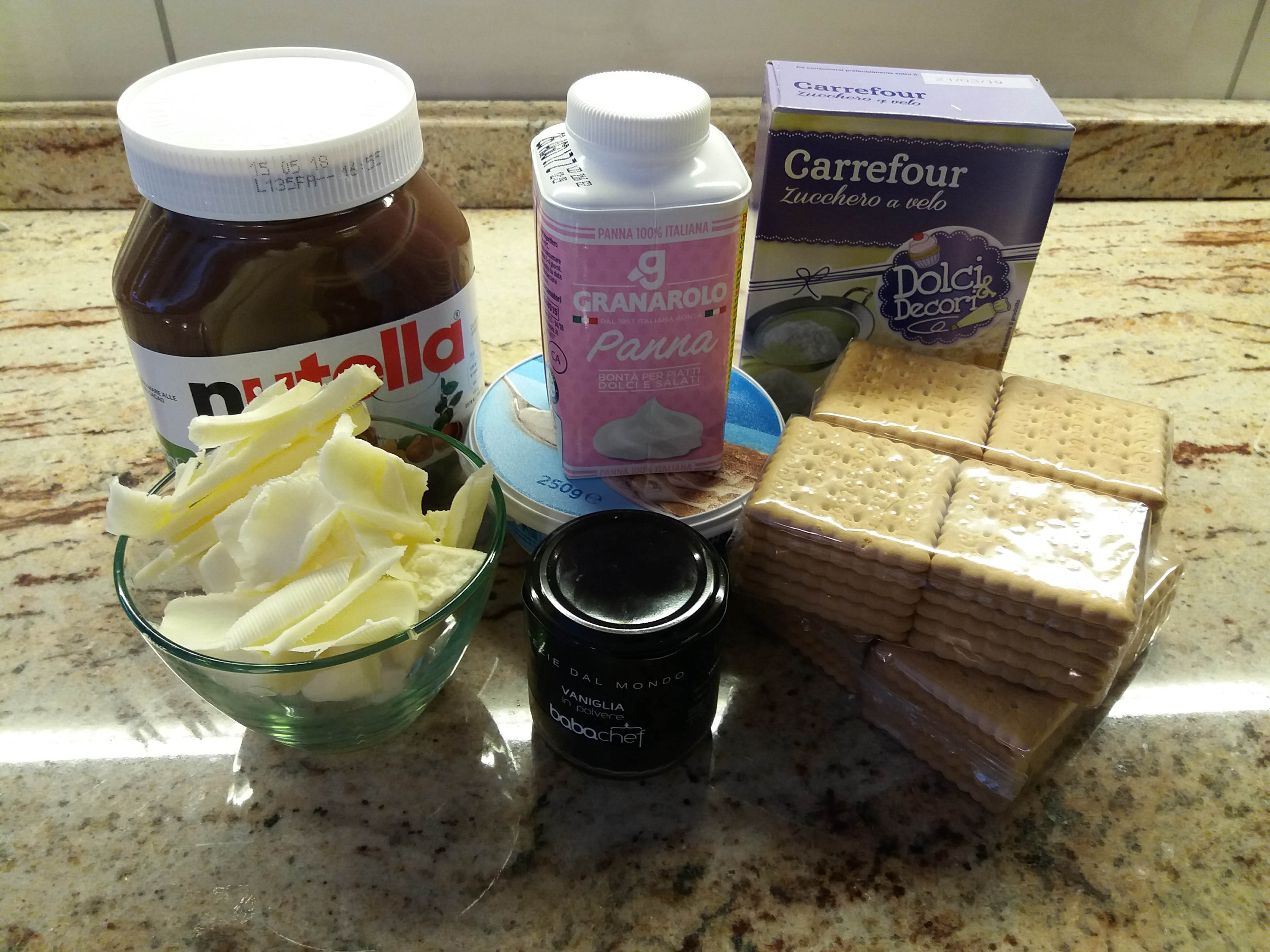 cheesecake-alla-nutella-8 Cheesecakes al mascarpone e Nutella