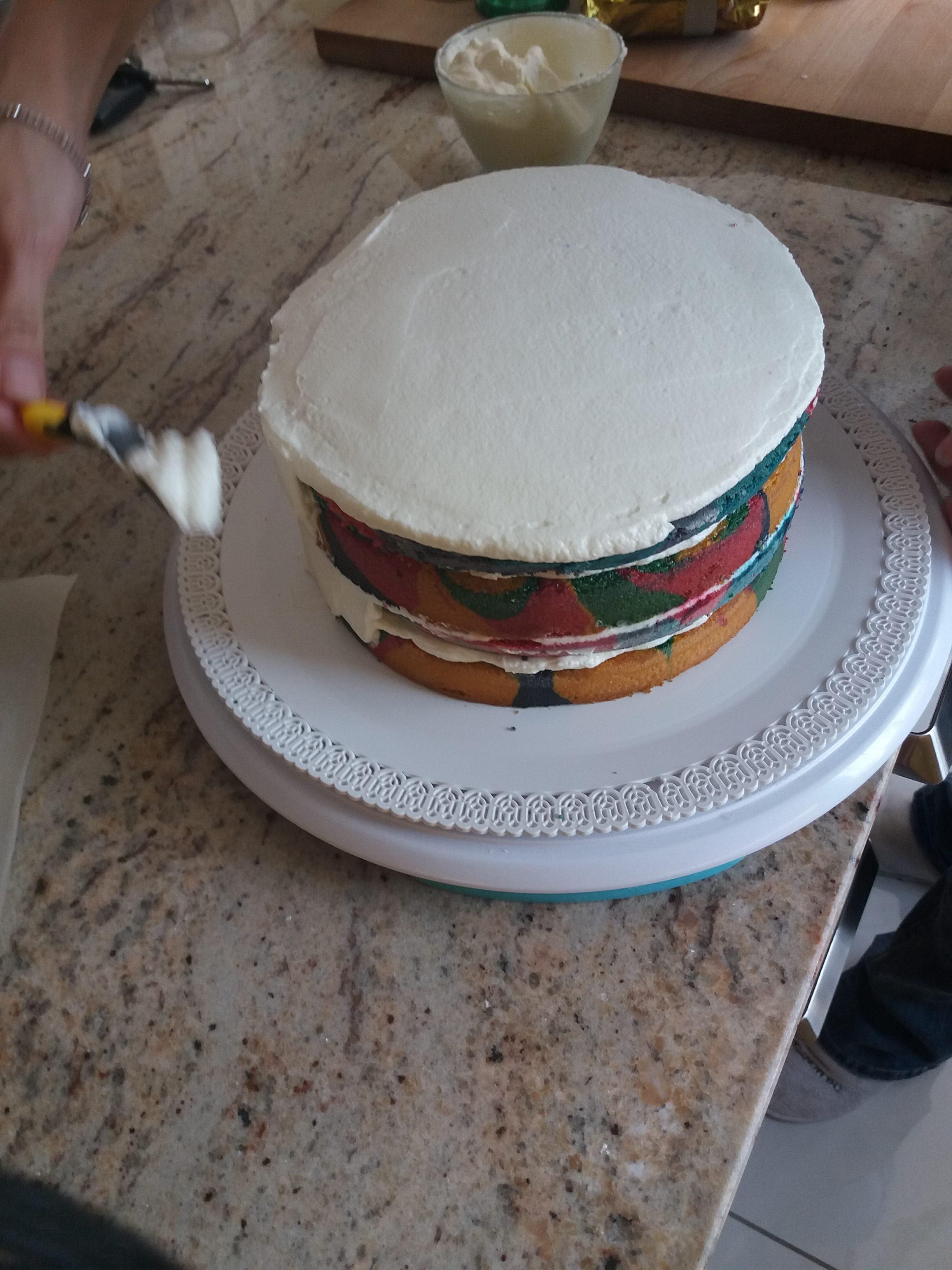 pan-di-spagna-multicolor-16-e1504216173143 Unicorn Cake