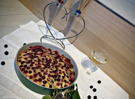 Torta all'uva americana con olio d'oliva