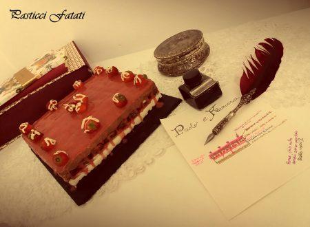 Paolo e Francesca… drip cake alla fragola