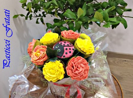 Bouquet di cupcakes all'uva americana