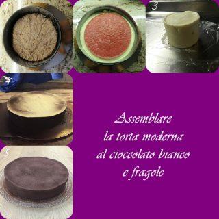 assemblare-la-torta-moderna-1-320x320 Torta moderna al cioccolato bianco e fragole