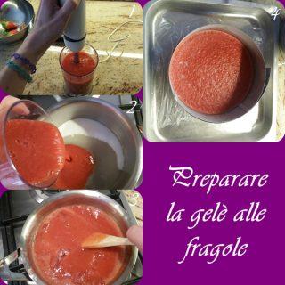preparare-la-gelé-320x320 Torta moderna al cioccolato bianco e fragole
