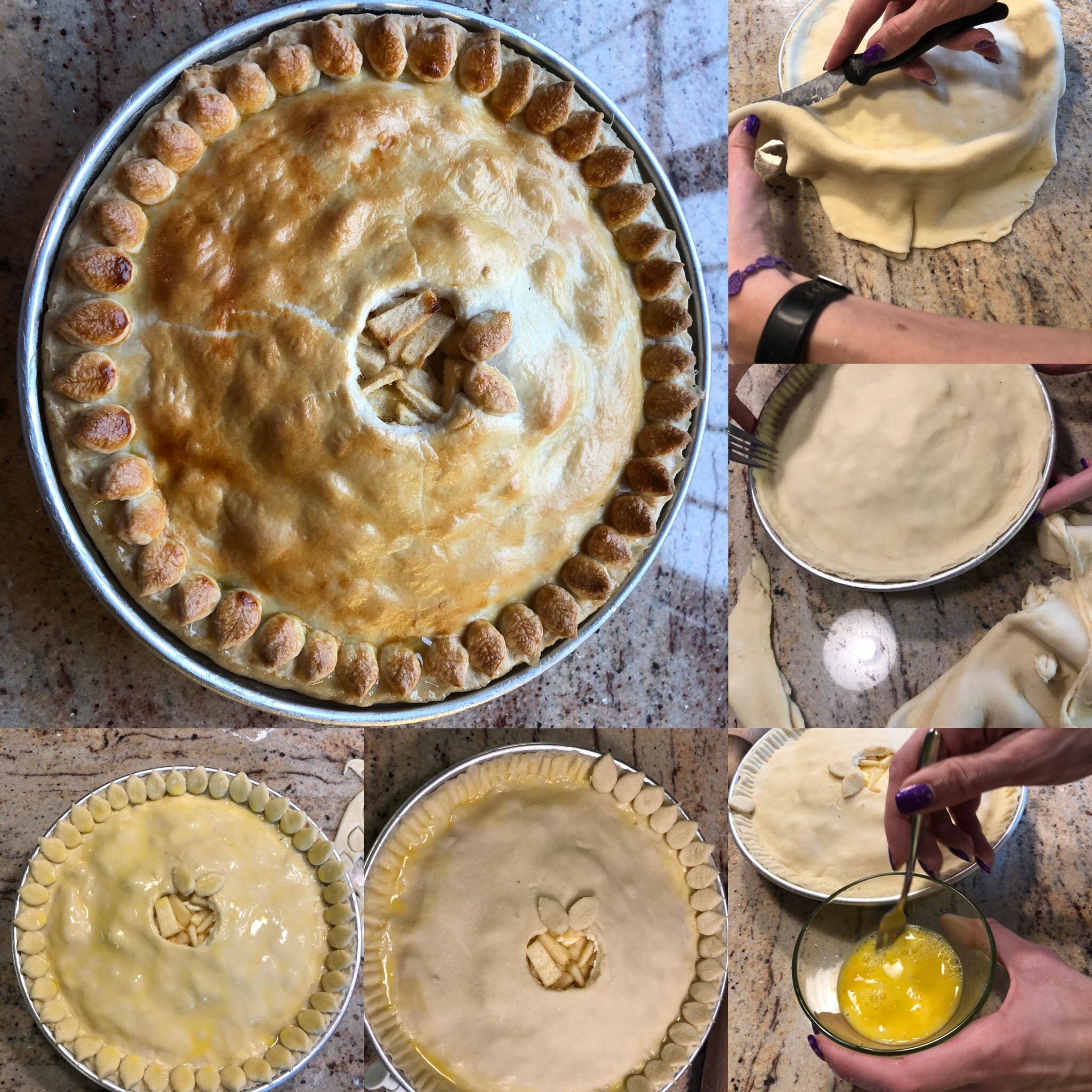 Apple-pie-2 Apple pie (Pasta brisé ripiena di mele)