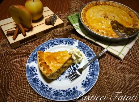 Apple pie (Pasta brisé ripiena di mele)