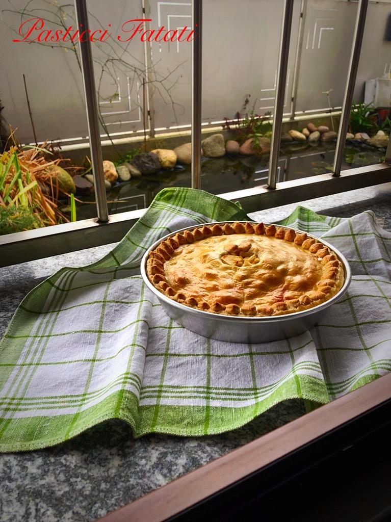 Apple-pie-6 Apple pie (Pasta brisé ripiena di mele)