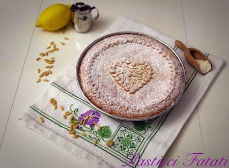 Torta della nonna al profumo di limone (versione tradizionale)