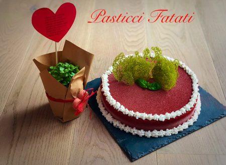 Mum's cake al basilico e lamponi