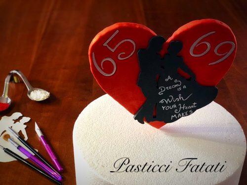 Tutorial Cinderella's Cake Topper