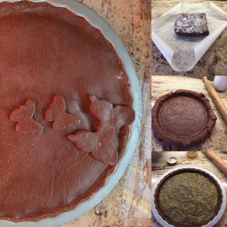 Crostata-al-cioccolato-al-profumo-di-rum-1-320x320 Crostata al cioccolato al profumo di rum con confettura di pere e ricotta